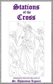 Jesus Lent Coloring Pages Children