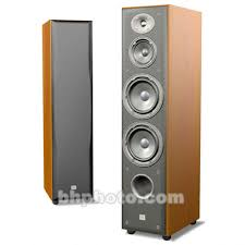 JBL E80 3 Way Floorstanding Speaker Cherry E80CH B&H