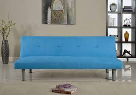 faux suede contemporary sofa bed in