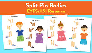 Split Pin Bodies Activity For Early Years And Ks1 Teachwire