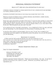 Resume Value Statement Sample Personal Mission Statement Examples Impressive Mission Statement Resume