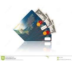 Us Dollar Inside Business Cards Stock Photo Image Of Closeup