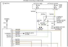 original 91 honda accord distributor wiring diagram or diagr womma 2007 Civic Si Engine Wiring Diagram at 95 Civic Ignition Switch Wiring Diagram