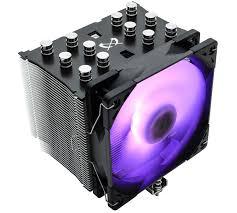 <b>Кулер</b> с подсветкой <b>Scythe Mugen 5</b> Black RGB Edition стоит ...