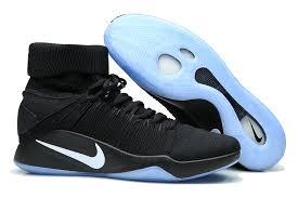 nike basketball shoes 2017. nike hyperdunk 2016 fk flyknit 843390 003 elite black metallic platinum mens basketball shoes 2017