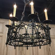 cool wrought iron chandeliers 25 antique country french chandelier