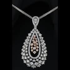 lot 2144 14k gold 0 16ct diamond pendant