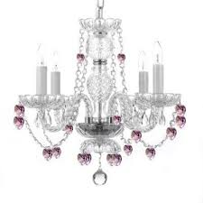 gallery 4 light chandelier with swarovski crystals from bed bath beyond at com