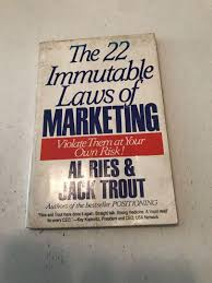 22 Immutable Laws Of Marketing 22 Immutable Laws Of Marketing Al Ries On Carousell
