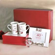 amazing by wedding gift ideas john 40th anniversary australia id