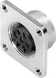 4 Binder Binder 09 0112 370 04 Miniatur Rundsteckverbinder Flanschbuchse