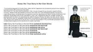 words free download diana her true story in her own words free download online audiobook