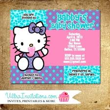 Hello Kitty Invitation Printable Free Hello Kitty Birthday Party Invitations Templates Design Simple