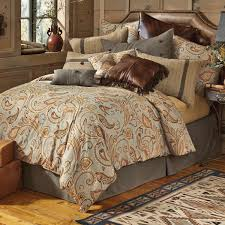 western bedding queen size sun spring comforter setlone star brown and grey comforter set new