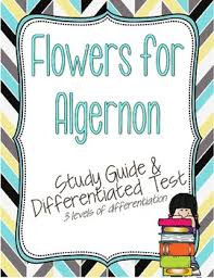 flowers for algernon test teaching resources teachers pay teachers  flowers for algernon study guide and differentiated test