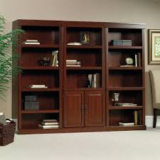 wall furniture shelves. Library With Doors Wall Furniture Shelves