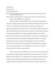 critical response essay on methods of art history carissa  critical response essay 2 on methods of art history carissa hardy 6 2014 critical response essay 1 berenson bernard rudiments of