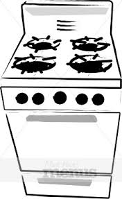 stove clipart black and white. gas stove clipart black and white a
