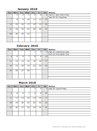 blank march calendar 2018 3 month printable calendar 2018 geocvc co