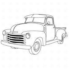 old truck drawings - Google Search | Craft show ideas. | Truck ...