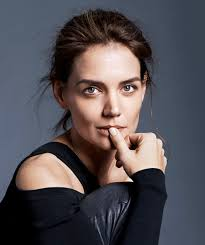 katie holmes goes makeup free for more magazine