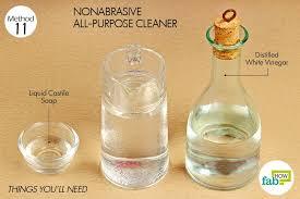 distilled white vinegar ½ tablespoon