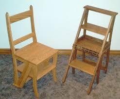 old chair stepstools wood chaise escabeau step stool chair plan de meubles