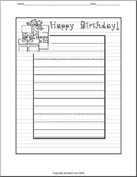 writing paper happy birthday abcteach writing paper happy birthday large image