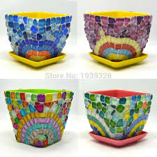 mosaic garden pots home design ideas and pictures