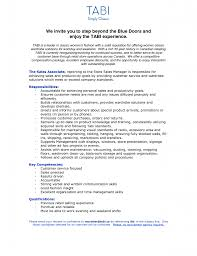 Real Estate Sales Associate Resume Insurance Broker Retail Sample
