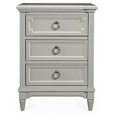 stunning white lacquer nightstand furniture. Clementine Court Nightstand, Gray Stunning White Lacquer Nightstand Furniture