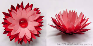 Origami Wafer Paper Tiger Lily Tutorial By Thats Good Cake Paper