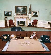 Jfk oval office Rug The Eisenhower Oval Office In 1960 national Geographic White House Museum Oval Office History White House Museum