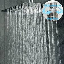 large shower head heads for electric showers escutcheon top best rain in bathrooms awesome sun large shower heads