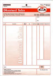 Bill Format 99 Format Marg Format
