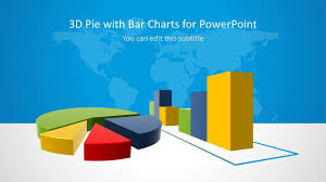 3d Pie Bar Charts For Powerpoint