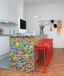 The Player Legos Similar Colored Mosaic Kitchen Island Design Ideas   Types  And Personalities Behind The Function