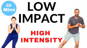 low impact cardio workouts on you