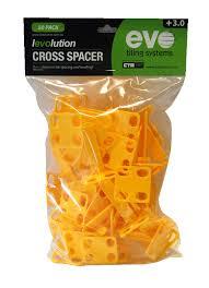 levolution cross spacer 3mm 50 pack