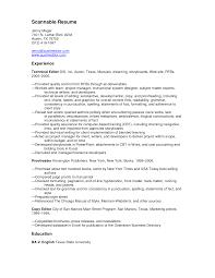 Proofreader Resume Cover Letter Awesome Sample Resume Proofreader