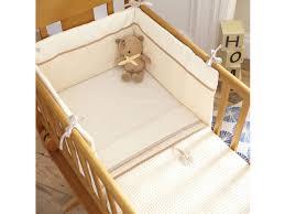 izziwotnot crib set cream
