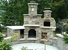 outdoor fireplace and pizza oven the plaza family wood fired outdoor pizza oven outdoor fireplace in