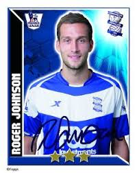 Roger Johnson Topps Football Stickers, Bromley   Premier League