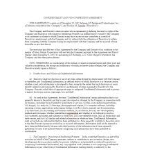 Nda Non Compete Template 39 Ready To Use Non Compete Agreement Templates Template Lab