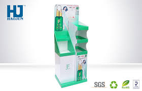 Retail Product Display Stands Customized Retail Cosmetic Product Display Stands Cardboard 2
