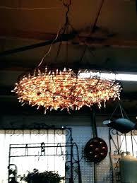 diy outdoor chandelier with solar lights outdoor solar chandelier