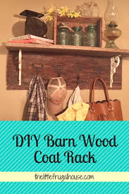 Make Your Own Coat Rack Diy Furniture Make your own rustic coat rack Supplies list and 69