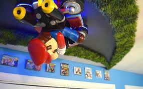 Mario Bedroom Decor Over The Top Nursery Brings You Inside Mario Kart Make