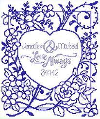 Wedding Cross Stitch Patterns Best Love Always Wedding Cross Stitch Pattern Wedding