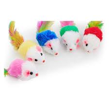 2019 Mouse <b>Plush</b> Toys Furry Mouse Cat Kitten <b>Real</b> Fur Gravel ...